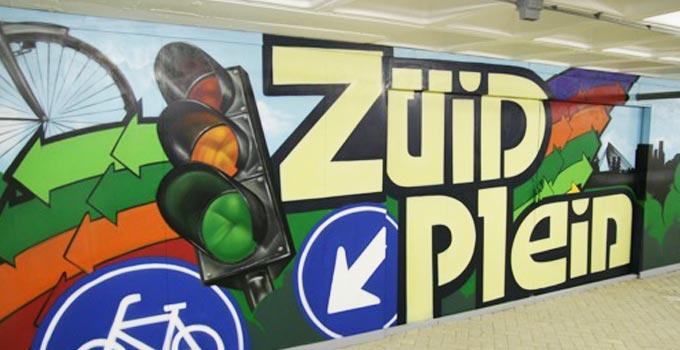 graffitimuurschildering
